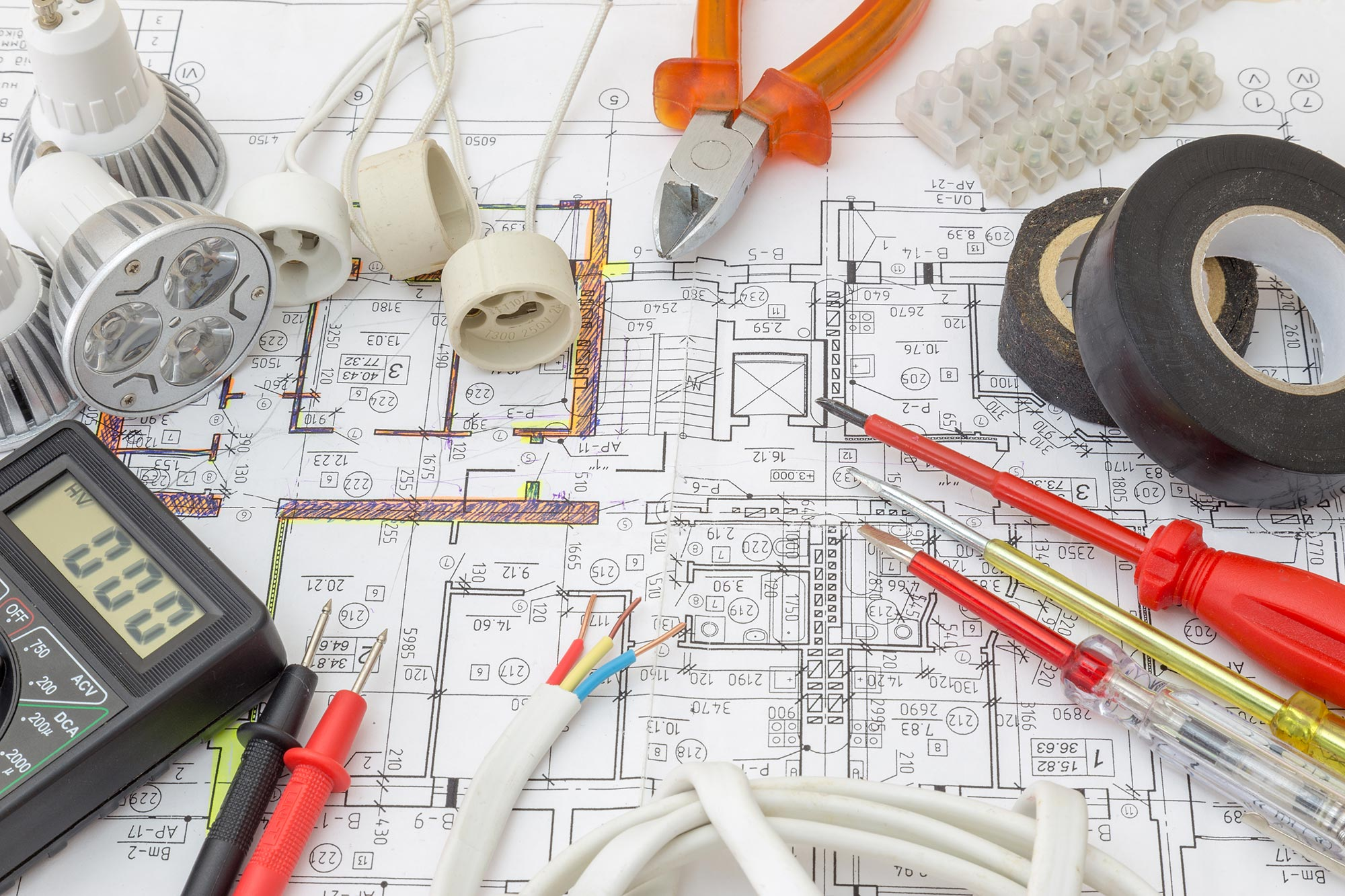 Building plans and tools